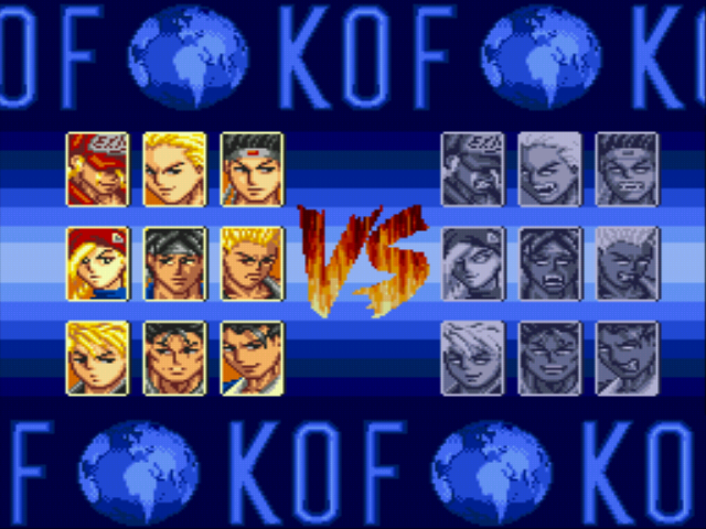 The King of Fighters…